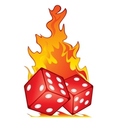 Hot game vector image vector image