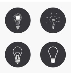 modern idea icons set vector image