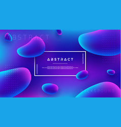 abstract fluid liquid background design vector image