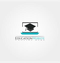 Education web icons template creative logo design vector