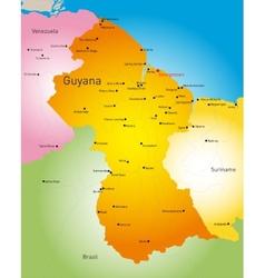 Guyana vector image