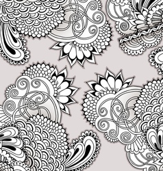 Hand drawn doodle ornament vector image