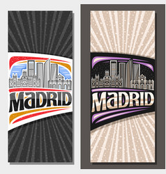 Layouts for madrid vector
