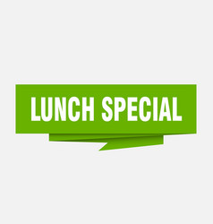Lunch special vector