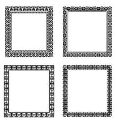 Set of frame vector image