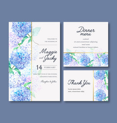 Wedding reception flowers with pastel leafage vector