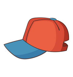 cap icon cartoon style vector image vector image