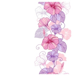 Stylish abstract floral background Design of vector image