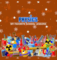 On the physics school theme vector