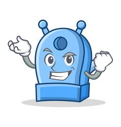 Successful pencil sharpener character cartoon vector