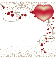 Valentines day template Royalty Free Vector Image