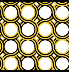 circle geometric pattern vector image vector image