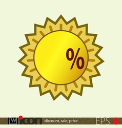 Sale Discount Price Tag vector image