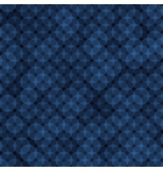 Dark Blue Ring Abstract Background vector image vector image