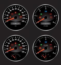 speed2 vector image vector image