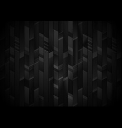 Abstract black and gray vertical stripes vector