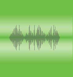 Audio logo sign vector