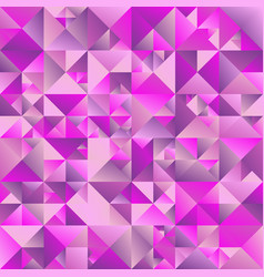 Colorful polygonal gradient triangle background vector