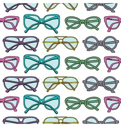 glassespattern vector image