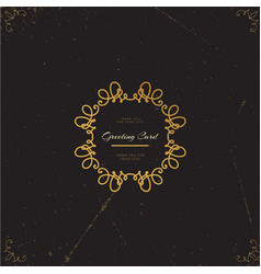 Luxury template sign vector