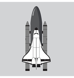 space shuttle vector images over 9 800 rh vectorstock com space shuttle thrust vectoring space shuttle vector icon