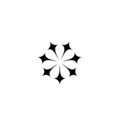 Spark logo design concept vector