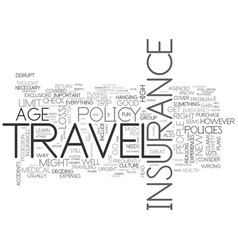 a most trusted travel buddy text word cloud vector image vector image