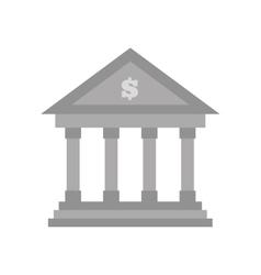 building bank money finance vector image