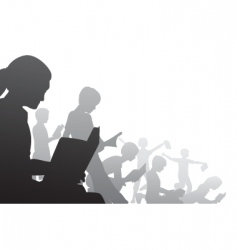 book kids vector image