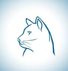 Little cat vector image