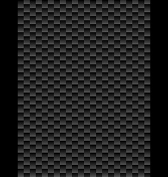 Black texture geometric seamless background vector image