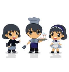 child chef vector image