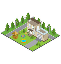 country building vector image