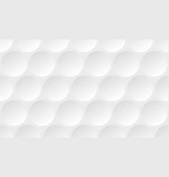 golf ball pattern vector image