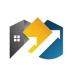 home logo template vector image