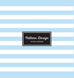 lines pattern blue vector image