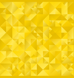Polygonal golden abstract geometrical triangle vector