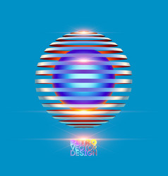retro vintage design vector image