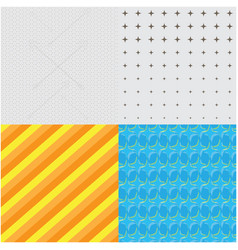 Set of textured backgrounds vector