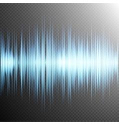 Sound wave on Transparent background EPS 10 vector