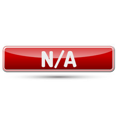 Na - abstract beautiful button with text vector