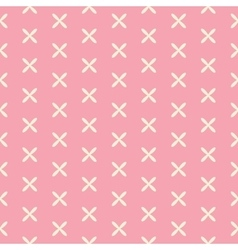 Romantic Seamless Pattern Background vector image vector image