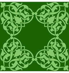 arabic decor vector image