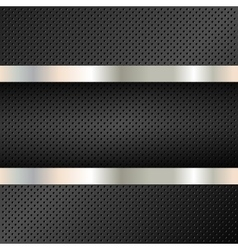 Technology background perforated circles vector image
