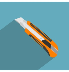 Flat stationary knife vector