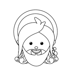 God representation icon image vector