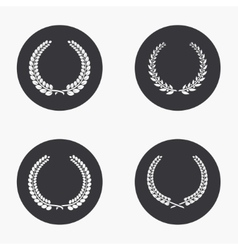 modern quality icons set vector image