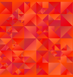 red gradient abstract triangle background design vector image