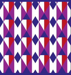Rhombus geometric seamless pattern cage endless vector