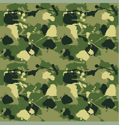 Seamless background a camouflage vector